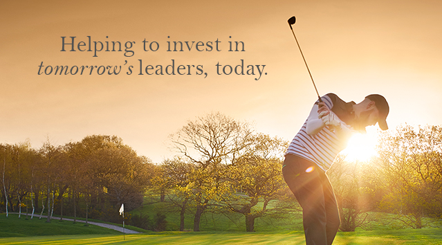 Helping to Invest in Tomorrow's Leaders